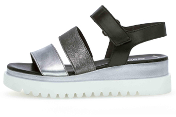 Gabor Casual Sandaletten in Übergrößen Mehrfarbig 44.610.61 große Damenschuhe – Bild 1
