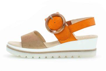 Gabor Casual Sandaletten in Übergrößen Mehrfarbig 44.645.12 große Damenschuhe – Bild 1