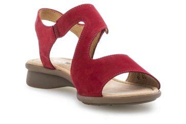 Gabor Comfort Basic Sandaletten in Übergrößen Rot 46.063.48 große Damenschuhe – Bild 5