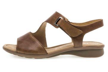 Gabor Comfort Basic Sandaletten in Übergrößen Braun 46.063.54 große Damenschuhe – Bild 1