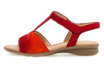 Gabor Comfort Basic Sandaletten in Übergrößen Rot 46.064.48 große Damenschuhe – Bild 1