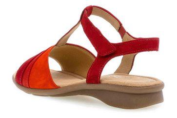 Gabor Comfort Basic Sandaletten in Übergrößen Rot 46.064.48 große Damenschuhe – Bild 2