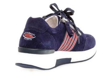 Gabor rollingsoft Sneaker in Übergrößen Blau 46.928.36 große Damenschuhe – Bild 3