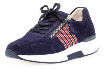Gabor rollingsoft Sneaker in Übergrößen Blau 46.928.36 große Damenschuhe – Bild 6