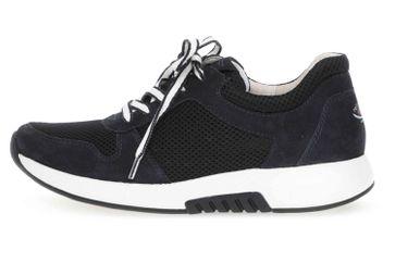 Gabor rollingsoft Sneaker in Übergrößen Blau 46.946.46 große Damenschuhe – Bild 1