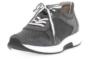 Gabor rollingsoft Sneaker in Übergrößen Grau 46.946.49 große Damenschuhe – Bild 6