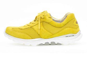 Gabor rollingsoft Sneaker in Übergrößen Gelb 46.966.64 große Damenschuhe – Bild 1