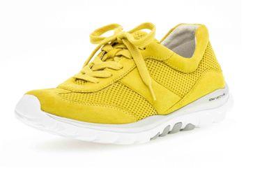 Gabor rollingsoft Sneaker in Übergrößen Gelb 46.966.64 große Damenschuhe – Bild 6