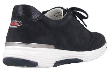 Gabor rollingsoft Sneaker in Übergrößen Blau 46.973.26 große Damenschuhe – Bild 3