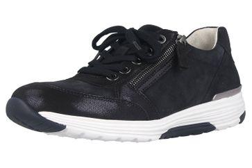 Gabor rollingsoft Sneaker in Übergrößen Blau 46.973.26 große Damenschuhe – Bild 6