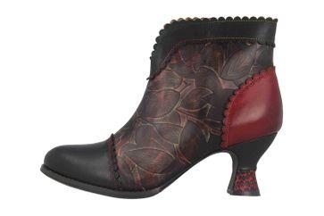 Spring Footwear LEAFEEL Stiefel in Übergrößen Schwarz LEAFEEL-B große Damenschuhe – Bild 1