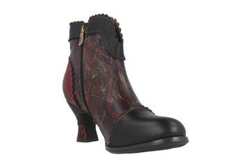 Spring Footwear LEAFEEL Stiefel in Übergrößen Schwarz LEAFEEL-B große Damenschuhe – Bild 5