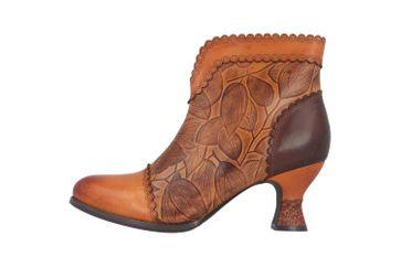 Spring Footwear LEAFEEL Stiefel in Übergrößen Braun LEAFEEL-CA große Damenschuhe – Bild 1