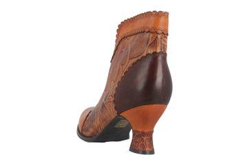 Spring Footwear LEAFEEL Stiefel in Übergrößen Braun LEAFEEL-CA große Damenschuhe – Bild 2