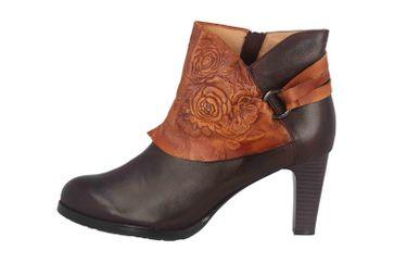 Spring Footwear LORA Stiefel in Übergrößen Braun LORA-CHOCM große Damenschuhe – Bild 1