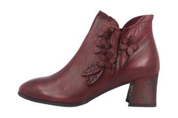 Spring Footwear LORALIE Stiefel in Übergrößen Bordeaux LORALIE-BX große Damenschuhe – Bild 1
