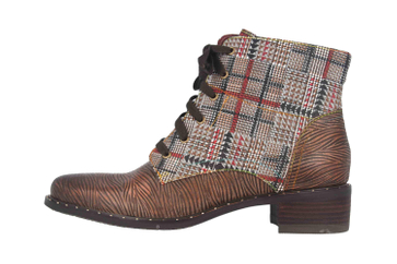 Spring Footwear MAZOYA Stiefel in Übergrößen Braun MAZOYA-BRM große Damenschuhe – Bild 1