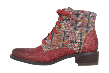 Spring Footwear MAZOYA Stiefel in Übergrößen Rot MAZOYA-RDM große Damenschuhe – Bild 1