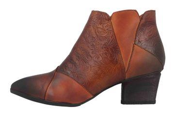 Spring Footwear MELODIE Boots in Übergrößen Braun MELODIE-CA große Damenschuhe – Bild 1