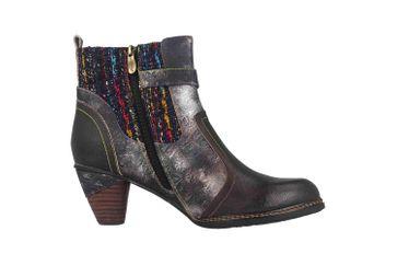 Spring Footwear NANCIES Boots in Übergrößen Schwarz NANCIES-BM große Damenschuhe – Bild 4