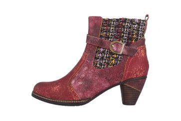 Spring Footwear NANCIES Boots in Übergrößen Bordeaux NANCIES-BXM große Damenschuhe – Bild 1