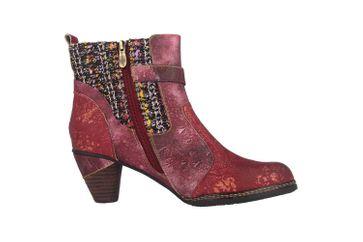 Spring Footwear NANCIES Boots in Übergrößen Bordeaux NANCIES-BXM große Damenschuhe – Bild 4