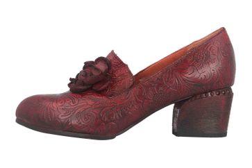 Spring Footwear NOORA Pumps in Übergrößen Bordeaux NOORA-BX große Damenschuhe – Bild 1
