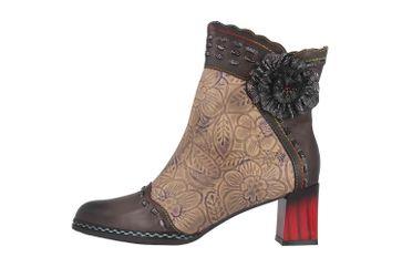 Spring Footwear STRIOLLE Stiefel in Übergrößen Grau STRIOLLE-GRYM große Damenschuhe – Bild 1