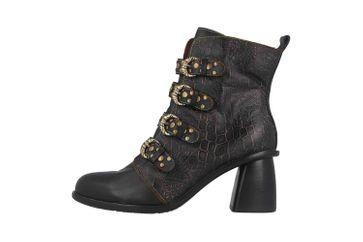 Spring Footwear WONDERLAND Stiefel in Übergrößen Schwarz WONDERLAND-BM große Damenschuhe – Bild 1