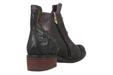 Spring Footwear NAILHEAD Boots in Übergrößen Schwarz NAILHEAD-B große Damenschuhe – Bild 3