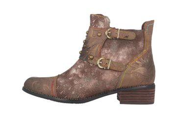 Spring Footwear NAILHEAD Boots in Übergrößen Braun NAILHEAD-BR große Damenschuhe – Bild 1