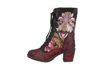 Spring Footwear CASANDRA Stiefel in Übergrößen Schwarz CASANDRA-BM große Damenschuhe – Bild 1