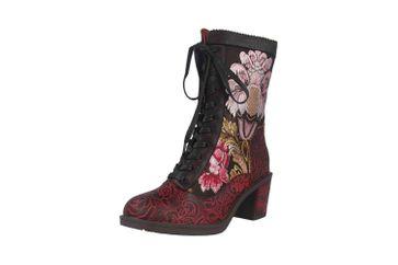 Spring Footwear CASANDRA Stiefel in Übergrößen Schwarz CASANDRA-BM große Damenschuhe – Bild 6