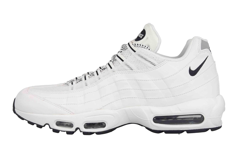 Nike Air Max 95 Sportschuhe in Übergrößen Weiß 609048 109 große Herrenschuhe