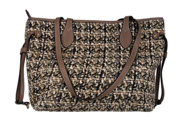 Spring Footwear Tasche TWEED in Beige TWEED-BGEM – Bild 3