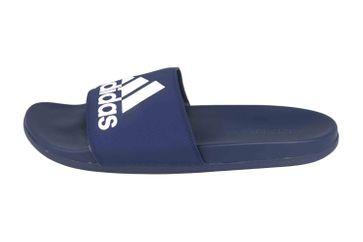 Adidas Adilette Comfort Badesandalen in Übergrößen Blau B44870 große Herrenschuhe – Bild 1