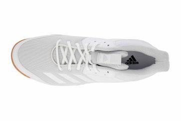 Adidas Ligra 6 Sportschuhe in Übergrößen Weiß D97697 große Unisexschuhe – Bild 7