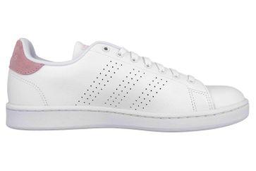 Adidas Advantage Sportschuhe in Übergrößen Weiß F36481 große Damenschuhe – Bild 4