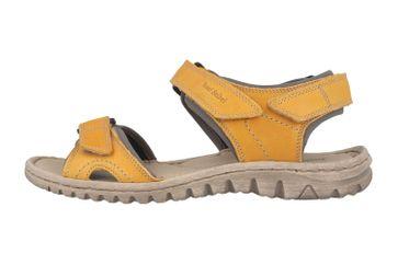 Josef Seibel Lucia 15 Sandalen in Übergrößen Gelb 63815 193 851 große Damenschuhe – Bild 1