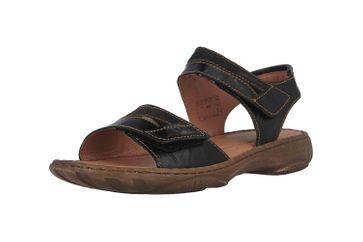 Josef Seibel Debra 19 Sandalen in Übergrößen Schwarz 76719 88 102 große Damenschuhe – Bild 6