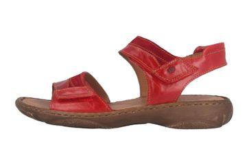 Josef Seibel Debra 19 Sandalen in Übergrößen Rot 76719 88 401 große Damenschuhe – Bild 1