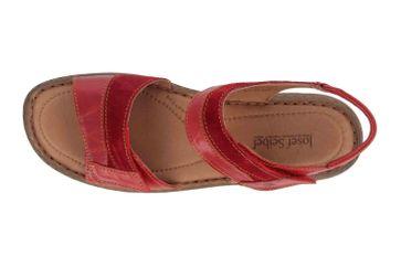 Josef Seibel Debra 19 Sandalen in Übergrößen Rot 76719 88 401 große Damenschuhe – Bild 7