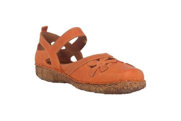 Josef Seibel Rosalie 41 Sandalen in Übergrößen Orange 79541 727 840 große Damenschuhe – Bild 5