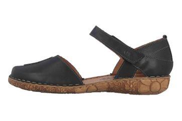 Josef Seibel Rosalie 42 Sandalen in Übergrößen Schwarz 79542 727 100 große Damenschuhe – Bild 1