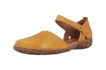 Josef Seibel Rosalie 42 Sandalen in Übergrößen Gelb 79542 727 850 große Damenschuhe – Bild 6