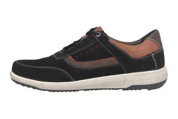 Josef Seibel Enrico 05 Sneaker in Übergrößen Schwarz 25305 994 102 große Herrenschuhe – Bild 1