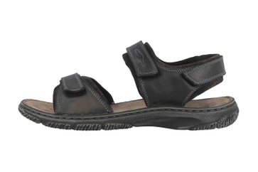 Josef Seibel Carlo 11 Sandalen in Übergrößen Schwarz 27611 TE41 100 große Herrenschuhe – Bild 1