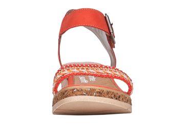 Remonte Sandalen in Übergrößen Rot D3051-33 große Damenschuhe – Bild 4