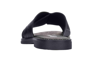 Remonte Pantoletten in Übergrößen Schwarz D3651-01 große Damenschuhe – Bild 2