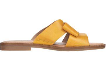 Remonte Pantoletten in Übergrößen Gelb D3653-68 große Damenschuhe – Bild 3